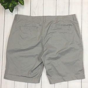 Old Navy Shorts - Old Navy Low-Rise Perfect Bermudas Shorts - Gray